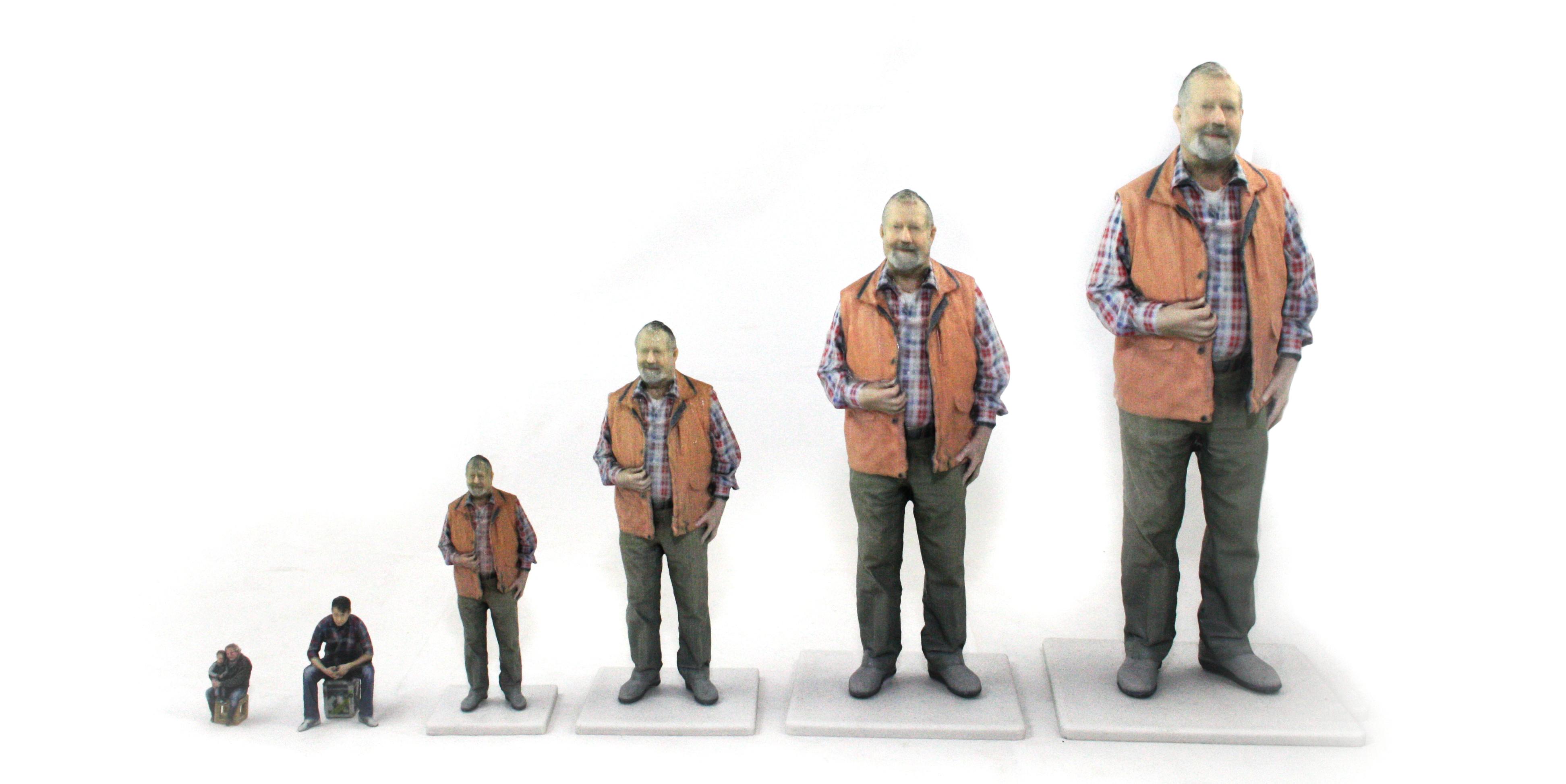 Unsere 3D-Figur Größen